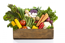 Just Veggies Value Box $100  delivered in Melbourne