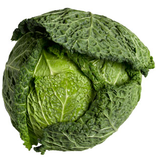 Cabbage Savoy (whole) delivered in Melbourne