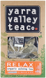 TEA- Yarra Valley Tea Co. ORGANIC - RELAX (15 bags) delivered in Melbourne